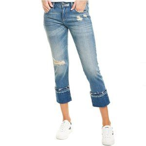 Hidden Jeans Tracey High-Rise Straight Crop 26